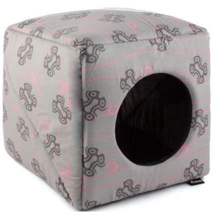 Домик для кошек и собак Gamma Дом Куб Медиум, в ассортименте, 36x36x36см