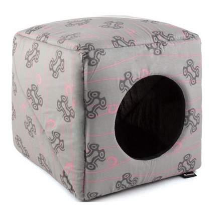 Домик для кошек и собак Gamma Дом Куб Мини, в ассортименте, 30x30x30см