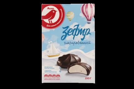 Зефир АШАН глазированный 250 г