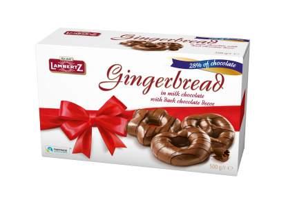 Пряники Lambertz Gingerbread in Chocolate 500 г