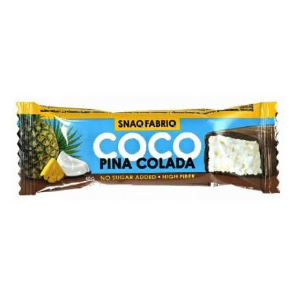 Батончик в шоколаде Snaq Fabriq кокос-ананас 40 г