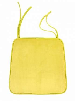 Подушка на стул 40x35x38 см, лимонный DeНАСТИЯ 8426 P111151