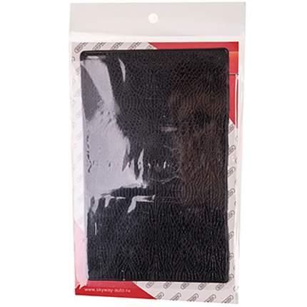 Коврик панели противоскользащий SKYWAY плоский принт кожа 195*120*4 мм