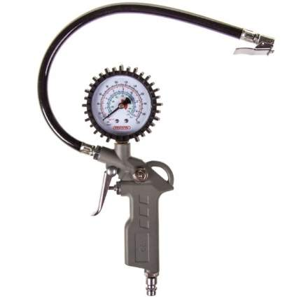 Пистолет для накачивания шин SKYWAY с манометром 15 АТМ быстросъемное соединение