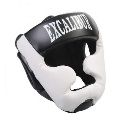Шлем Excalibur 714 PU, черный/белый, L