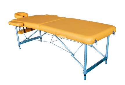 Массажный стол DFC NIRVANA Elegant LUXE 186х70х4 см, алюм. ножки, цвет горчичный TS2010_M