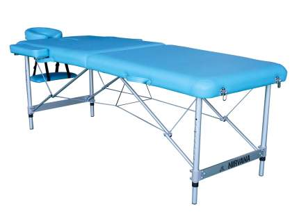 Массажный стол складной DFC Nirvana Elegant Luxe light blue