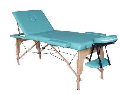 Массажный стол складной DFC Nirvana Relax Pro green