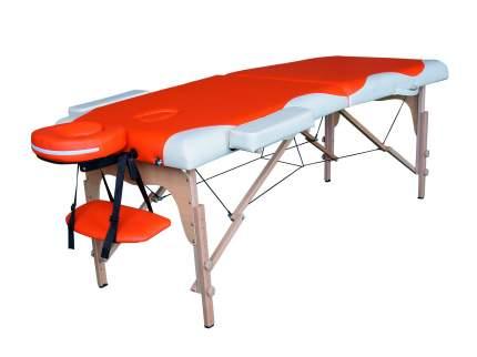 Массажный стол DFC NIRVANA Relax, дерев. ножки, цвет оранж.крем. TS2021D_OC