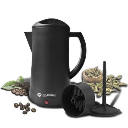 Гейзерная кофеварка Gelberk GL-542 Black