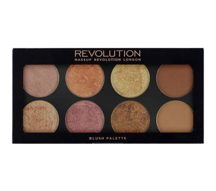 Палетка для макияжа MAKEUP REVOLUTION Ultra Blush Palette Golden Sugar 2 Rose Gold 13 г