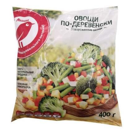 Овощи АШАН По-деревенски замороженные 400 г
