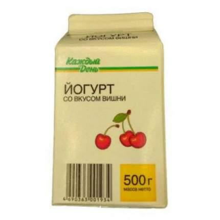Питьевой йогурт Каждый День вишня 2,5% 500 г