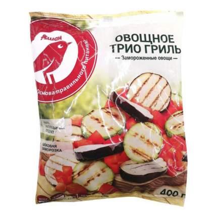 Овощная смесь АШАН Овощное трио гриль замороженное 400 г