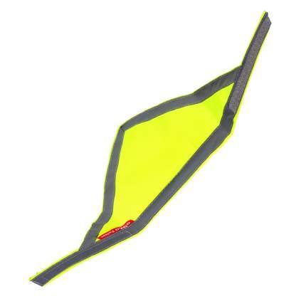 Бандана для собак OSSO Fashion сигнальная, унисекс, неоново-желтая, S, обхват шеи 30-42 см