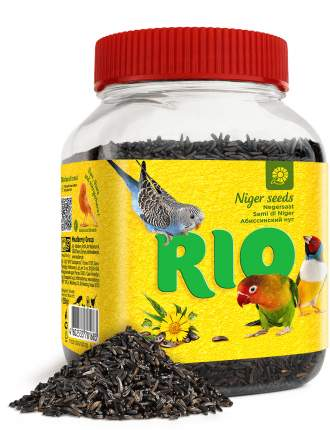 RIO Лакомство Абиссинский нуг для всех видов птиц, 250г