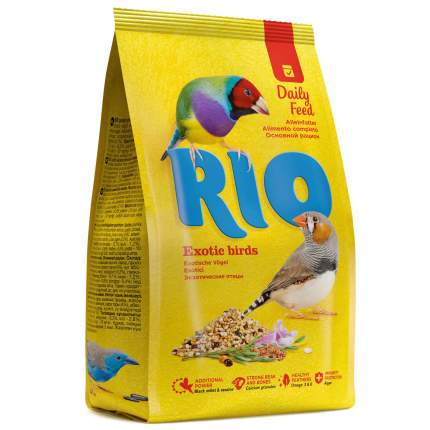 Основной корм RIO Exotic Birds для экзотических птиц 1000 г