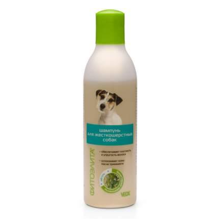 Шампунь для собак VEDA Фитоэлита для жесткошерстных, отвар березовых почек и бишофит 220мл