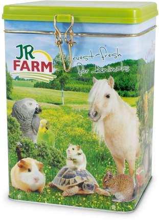 Банка для корма для животных Jr Farm металлическая, 21х15х15 см, 4,4 л