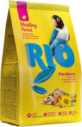 Корм для средних попугаев RIO Parakeets в период линьки, 1 кг