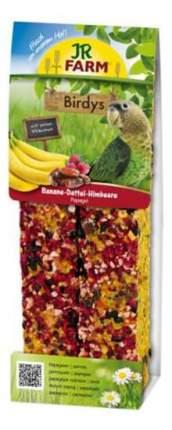 Лакомство для птиц JR Farm Birdy's, палочки с бананом и фиником, 2 шт