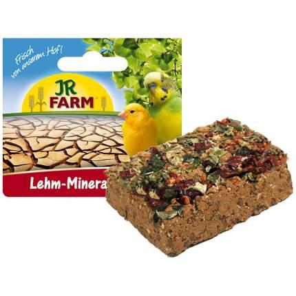 Глиноземный камень для птиц JR Farm Lehm-Mineral Pickstein, для клевания, 1 шт