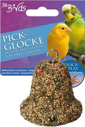 Лакомство для волнистых попугаев и канареек JR Farm Pick-Glocke, колокольчик, 150 г