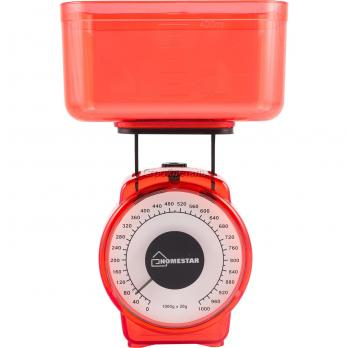 Весы кухонные HomeStar HS-3004М Red