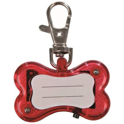 Подвеска-маячок для собак TRIXIE Брелок мигающий Косточки, 4,5 см