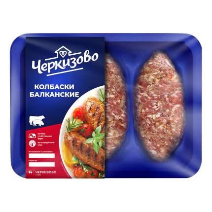 Колбаски из говядины и свинины Черкизово Балканские охлажденные 300 г