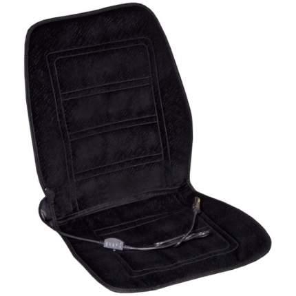 Подогрев сиденья со спинкой  SKYWAY с терморег-м (2 реж) Черный 12V 95х47см 2,5А-3А