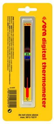 Термометр для аквариума Sera Digital жидкокристаллический, на клеевой основе