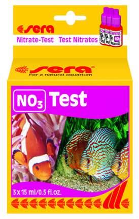 Тест уровня содержания нитратов, Sera Nitrat Test NO3 15 мл