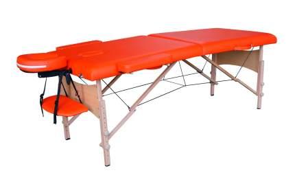 Массажный стол DFC NIRVANA Relax, дерев. ножки, цвет оранжевый TS20111_Or