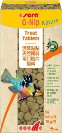 Корм для рыб Sera O-NIP, таблетки, 24таб, клеятся на стекло