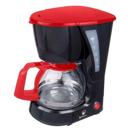 Кофеварка капельного типа Василиса КВ1-600 Black Red