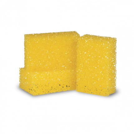 FLIEGENSCHWAMM HART  Губка жёлтая повышенной плотности для битума. Koch Chemie 999037
