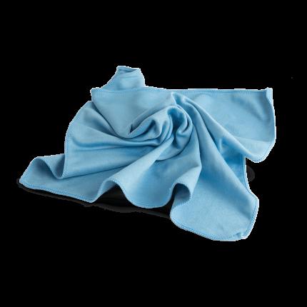 Салфетка  для стекол 40х40 см. голубая AuTech Au-6900
