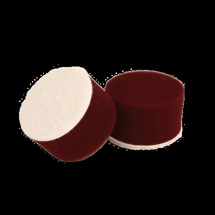 Круг для полировки - поролон 30*30 бордовый AuTech Au-PR030