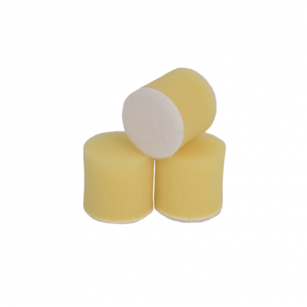 Круг для полировки - поролон 30*30 жёлтый AuTech Au-PY030