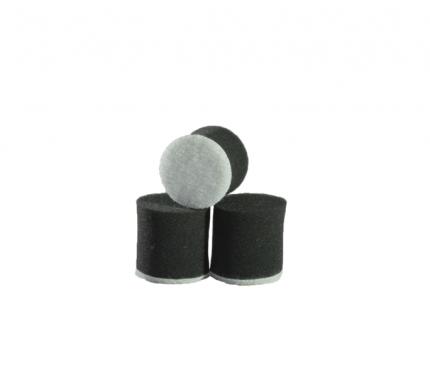 Круг для полировки - поролон 30*30 чёрный цвет AuTech Au-PB030