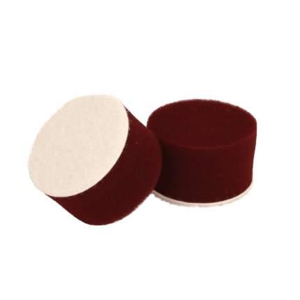 Круг для полировки - поролон 50*30 бордовый AuTech Au-PR050