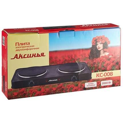 Настольная электрическая плитка Аксинья КС-008 Brown