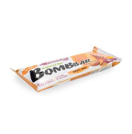 Батончик протеиновый Bombbar Грецкий орех с мёдом 60 г Россия