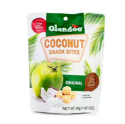 Кокосовые снеки Glendee оригинальные 40г Таиланд