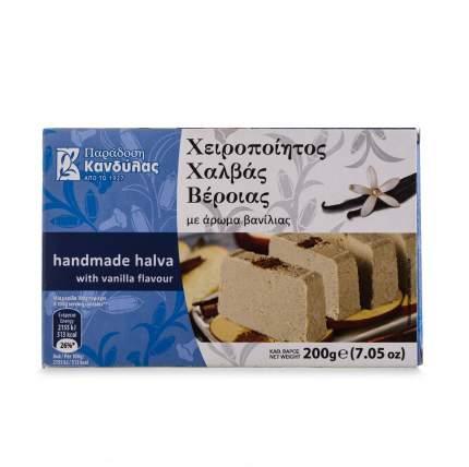 Халва Kandylas кунжутная с ароматом ванили 200г Греция