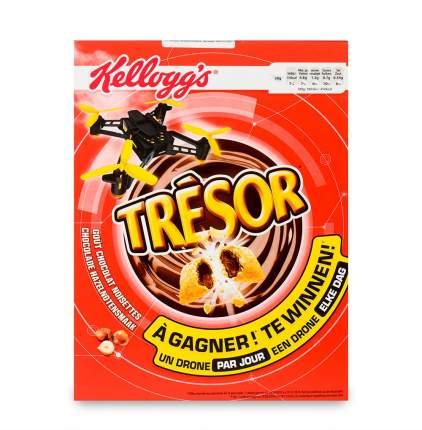 """Готовый завтрак """"Kellogg's"""" """"Смэкс Tresor"""" шоколадные подушечки, 400 г, Франция"""