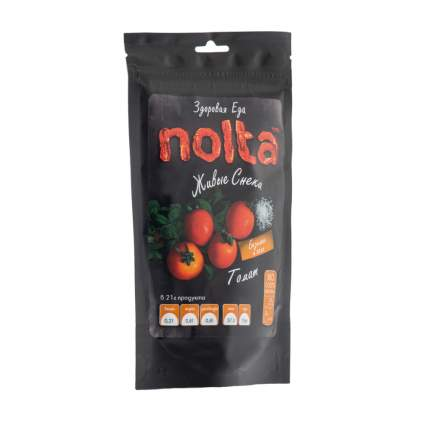 Чипсы овощные Томаты с солью и базиликом NOLTA 31 г, Россия