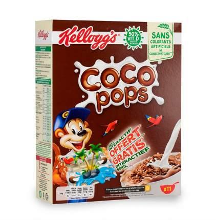 Готовый завтрак Coco Pops шоколадные шарики, Kellogg's, 375/400 г, Франция