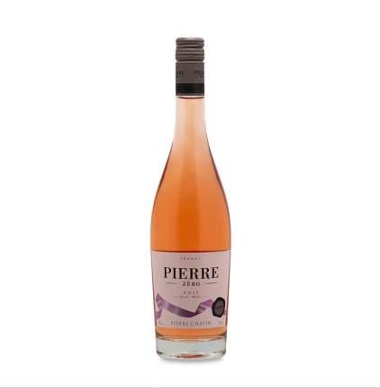 Вино розовое безалкогольное «0» Pierre Chavin, 0.75 л, Франция